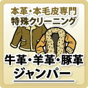 【牛革・羊革・豚革】ジャンパー/本革特殊品クリーニング / 革 クリーニング
