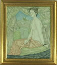 服部和三郎 「裸婦」 油彩10号