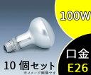 【日立】(10個セット)RF100V100W反射形投光電球レフ球 E26 100W【返品種別B】