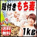国産 もち麦 殻付き 1kg×1袋 訳あり 小サイズ 雑穀米 に