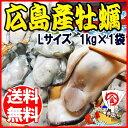 牡蠣/カキ/広島県産(業務用)冷凍牡蠣(かき) Lサイズ 1...