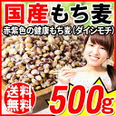 国産 もち麦 500g×1袋 送料無料 もちむぎ βグルカン メール便限定⇒送料0円 食物繊