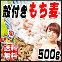 国産 もち麦 殻付き 500g×1袋 訳あり 小サイズ 雑穀米 に 昨年作付のそばの実がたまに混入することがございますので、そばアレルギーの方はご遠慮ください