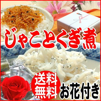 Sought in 2014 gifts flowers gift Shirasu / nail boiled and 250 g Shirasu / crepe / Tokushima prefecture of soft or Hyogo Prefecture from Japanese nail boiled 160 g set preserved birth 内祝i and seafood