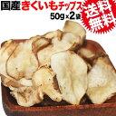 菊芋 きくいも 菊芋チップス キクイモ きくいもチップス 国産 50g×2袋 菊芋 無添加 イヌリン 天然のインシュリン ノンフライ 送料無料 メール便限定 有機 国産 原料使用