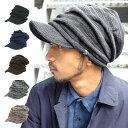 キャバレロCaballero つば付き ニット帽帽子 レディース メンズ ニットキャップ キャスケッ...