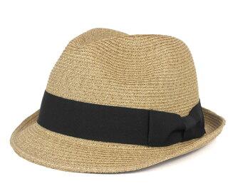 卡瓦列羅葉片牛軋糖色的氊帽帽子菲格雷斯 AD10 帽子 CABALLERO 色的氊帽帽子菲格拉斯 AD10 編織牛軋糖 [男士草帽稻草秸稈的帽子帽子草帽大大小]