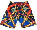 送料無料 SALE セール クルックス&キャッスルズ ショートパンツ サーフパンツ ネイビーマルチ CROOKS&CASTLES REGALIA BLUE NAVY MULTI [ メンズ ズボン ][NV] #AP:TP