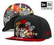 【その他】ニューエラ×トキドキ×ストリートファイター キャップ スナップバック アッパーカット ブラック 帽子 NEWERA×TOKIDOKI×STREET FIGHTER 9FIFTY RYU [ キャップ new era cap ニューエラキャップ 大きい サイズ メンズ レディース ][BK] #CP:S