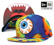 ニューエラ×ミシュカ スナップバック キャップ キープ ウォッチ ライムブルー タイダイ 帽子 NEWERA×MISHKA 9FIFTY KEEP WATCH SNAPBACK LIME BLUE TIE-DYE [ スナップバック キャップ new era サイズ調整 大きい サイズ メンズ レディース ] [BU]#CP:S
