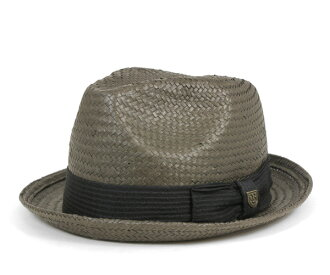 布裡克斯頓 sutoroo_hatto 秸稈卡斯特洗黑帽子布裡克斯頓稻草帽子蓖麻洗黑 [大小男裝大草帽稻草秸稈的帽子帽子草編帽子]