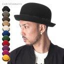 帽子 ボーラー フェルト ハット カブロカムリエ 全11色 CABLOCAMURIE BASIX BOWLER HAT [ 帽子 ハット ボウラーハット フェル...