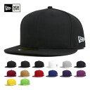 ニューエラ NEW ERA キャップ 無地 メンズ 帽子 ブランク ベーシック 全14色 59FIFTY CAP BASIC NEW ERA [RV-1]【UN...