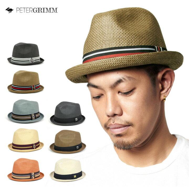 [ 送料無料 ] ピーターグリム デップ 帽子 中折れ ストロー ハット DEPP PETER GRIMM HAT DEPP 全8色 [ 麦わら帽子 ストローハット 大きいサイズ メンズ レディース ゴルフ ]【R】【UNI】 #HA:S