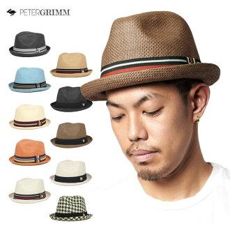 ピーターグリム Depp hats caps ストロー_ハット DEPP PETER GRIMM HAT DEPP all eight colors #HA: S