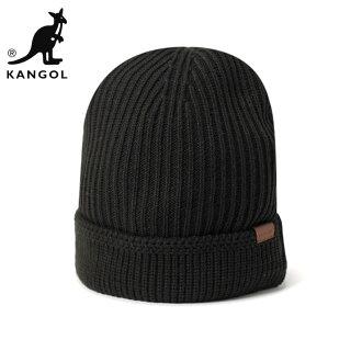KANGOL 針織帽針織帽子隊免費老式袖紅黑帽子 KANGOL 針織帽球隊完全老式袖口拉黑 #KT [針織的帽帽大尺寸男士] 和 [BK]