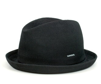 Caps KANGOL Hat tropic player black KANGOL TROPIC PLAYER BLACK