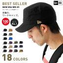 ポイント10倍 NEW ERA(ニューエラ) ワークキャップ WM-01 | 帽子 メンズ レディース ミリタリーキャップ | 全17色 ダックキャンバス [RV-1]【UNI】[JS]