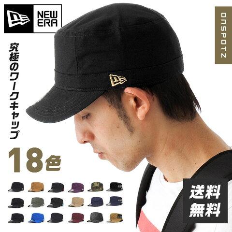 ニューエラ ワークキャップ WM-01 | NEW ERA NEWERA 帽子 メンズ レディース ミリタリーキャップ | 全18色 [RV][JS]【UNI】