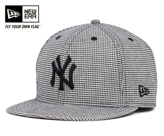 New era Cap New York Yankees houndstooth check black cap NEWERA NEW YORK YANKEES HOUNDSTOUTH #CP: B
