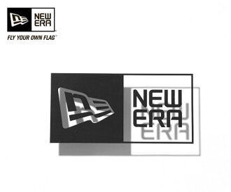 New era stickers box logo black NEWERA STICKER BOX LOGO BLACK #OG [women's accessories and men's networks, new era new era toy], [BK]
