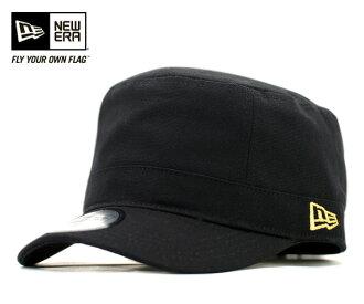 New era canvas military Cap Cap Black Hat NEWERA WM-01