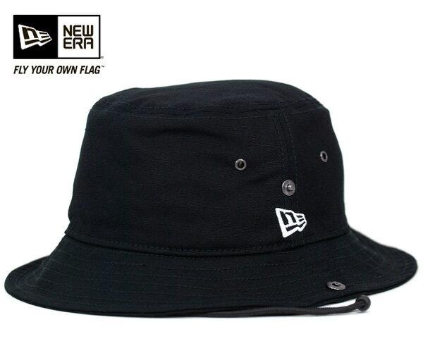★ニューエラ アドベンチャーハット バケット ダック ブラック 帽子 NEWERA BUCKET HAT DUCK BLACK