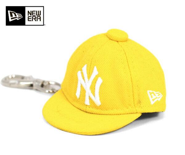 ニューエラ キャップ キーホルダー 59FIFTY MLB ニューヨークヤンキース イエロー 11117964 | NEW ERA NEWERA 帽子 メンズ レディース mne-jsot005 [JS]【UN-】【MB】