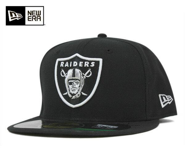 ★ニューエラ キャップ オーセンティック オークランド レイダース ブラック 帽子 NEWERA 59FIFTY CAP NFL ON FIELD SIDELINE OAKLAND RAIDERS BLACK