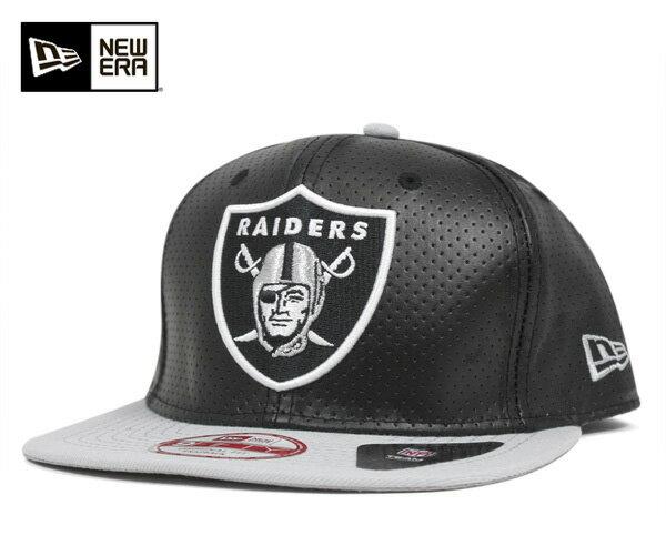★ニューエラ スナップバック キャップ プロパティー オークランド レイダース 帽子 NEWERA 9FIFTY SNAPBACK CAP NFL PERF PROPERTY OAKLAND RAIDERS BLACK