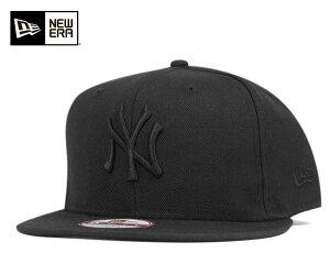 スナップ キャップ ニューヨーク ヤンキース ブラック