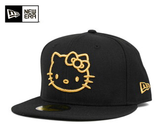 Hello Kitty x new era collaboration with cap black / gold BLACK / GOLD KITTY LOGO BASIC KITTY NEWERA×HELLO #CP: B