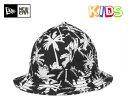 ニューエラ キッズ エクスプローラー ハット パームツリー ブラック 帽子 New Era KIDS EXPLORER HAT PALM TREE BLACK [ ニューエラ キ..