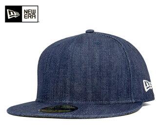 新時代帽基本靛藍牛仔帽子 ONSPOTZ 原始紐埃爾 59FIFTY 章基本靛藍牛仔布一處景點另一張紙條