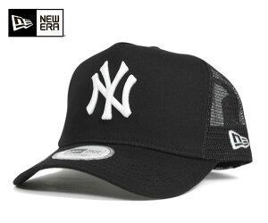 メッシュ キャップ フレーム トラッカー ニューヨーク ヤンキース ブラック