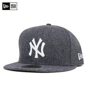 キャップ ニューヨーク ヤンキース ツイード チャコール