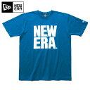 ニューエラ Tシャツ BIG NE ブルー NEW ERA ...