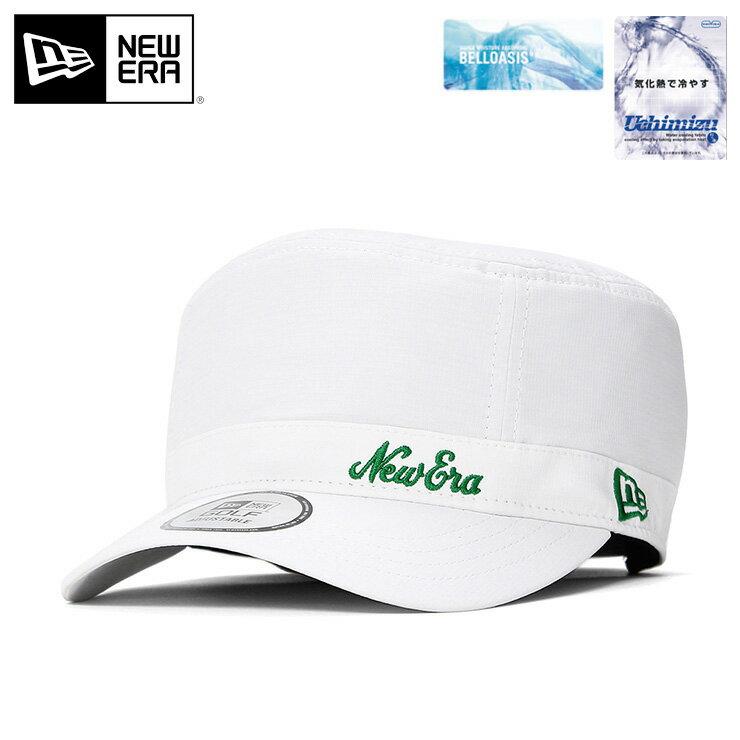 ニューエラ ゴルフ ワークキャップ アジャスタブル WM-01 BELLOASIS オールドロゴ ホワイト NEW ERA GOLF ゴルフキャップ 白 帽子 newera メンズ帽子 メンズキャップ レディース帽子 レディースキャップ ぼうし new era ブランド ストリート ミリタリーキャップ
