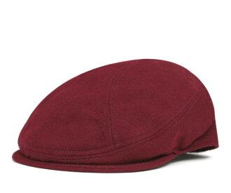 紐約帽帽羊毛麥爾登 1900年勃艮第的帽子紐約帽子狩獵 WOL 梅爾頓 1900年勃艮第 [針織帽帽男裝