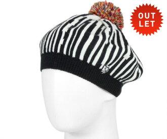 KANGOL x 迪士尼貝雷帽帽 Black Hat KANGOL × 迪士尼貝雷帽迪士尼墨黑色 #WN [帽子女士貝雷帽帽迪士尼迪士尼米老鼠米奇老鼠羊毛貝雷帽] 和 [BK]: B