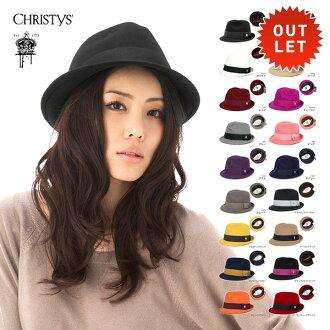 佳士得皇冠系列軟呢帽羊毛帽及帽子 CCS96 所有 18 都色 CHRISTYS 的皇冠 BASIX 感覺軟呢帽絲帶帽子