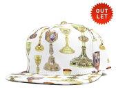 クルックスアンドキャッスルズ スナップバック キャップ ホーリー グレイル ホワイト 帽子 CROOKS&CASTLES SNAPBACK CAP HOLY GRAIL WHITE [ スナップバックキャップ メンズ ][WH] #CP:S 【返品交換対象外】