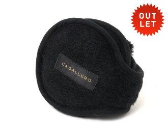 卡瓦列羅耳罩耳罩黑色 CABALLERO 耳罩黑色 [女性的配件男裝] 和 [BK] 交流