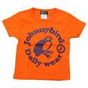 Johnny Bird Daily Wear(ジョニーバードデイリーウェア)KIDS CIRCLE LOGO T-Shirt Orange×Purple キッズTシャツ