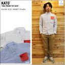 ショッピングSHIRTS KATO' DENIM(カトーデニム)BASIC B.D. SHIRT SlimFit 2color ベーシックボタンダウンシャツスリムフィット