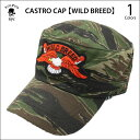 【LEFT FIELD/レフトフィールド】 CASTRO CAP 【WILD BREED】