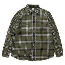 ショッピングSHIRTS KATO'(カトー)Work Shirts Khaki ワークシャツ