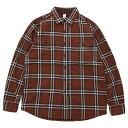 ショッピングSHIRTS KATO'(カトー)Work Shirts Brown ワークシャツ