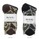 ショッピングTOTO RoToTo(ロトト)CAMO SOCKS 2color カモソックス