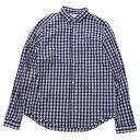 ショッピングSHIRTS Tieasy PLUS(ティージィープラス)B.D. Shirts Gingham ボタンダウンシャツ